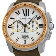 Cartier Calibre De Cartier Chronograph - W7100043