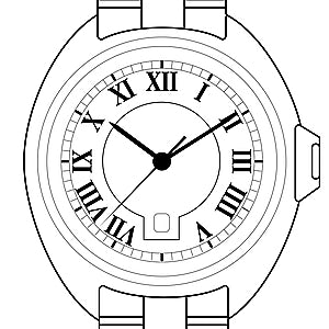 Cartier Clé HPI00946