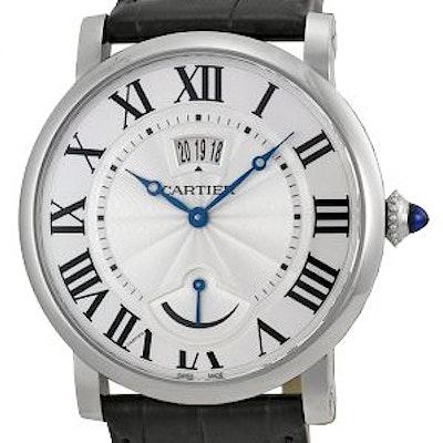 Cartier Rotonde Datumsfenster Gangreserveanzeige - W1556369