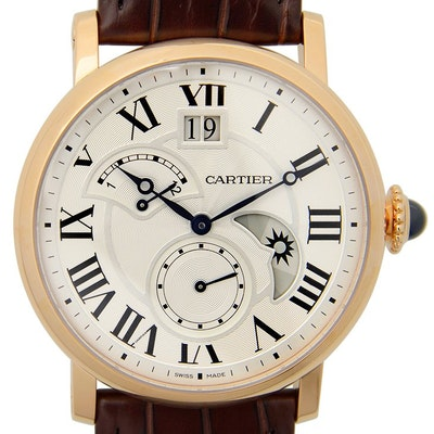 Cartier Rotonde Large Date, Retrograde Second, Time Zone and Day & Night Indicator - W1556240
