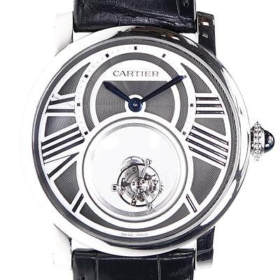Cartier Rotonde Geheimnisvolles Doppeltourbillon - W1556210