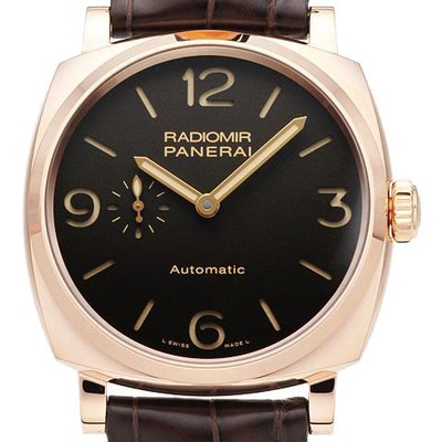 Panerai Radiomir 1940 3 Days Automatic Oro Rosso - PAM00573