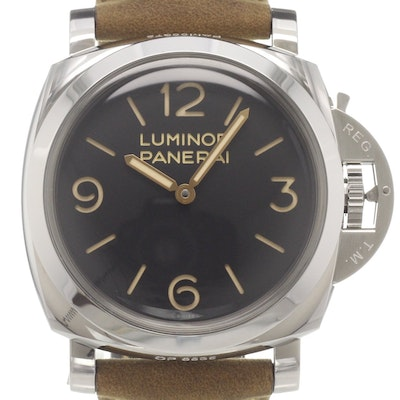 Panerai Luminor 1950 3 Days GMT Acciaio - PAM00372