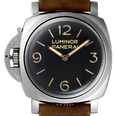 Panerai Luminor 1950 Left-Handed 3 Days Acciaio - PAM00557
