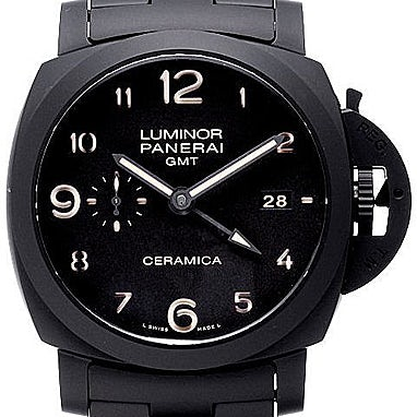 watches wrist steel for p watch mens gmt s luminor new reserve men panerai power ebay automatic