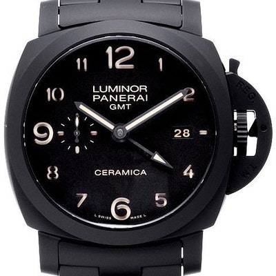 Panerai Luminor 1950 Tuttonero 3 Days GMT Automatic Ceramica - PAM00438