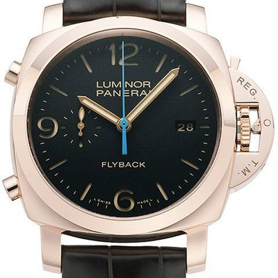 Panerai Luminor 1950 3 Days Chrono Flyback Automatic Oror Rosso - PAM00525