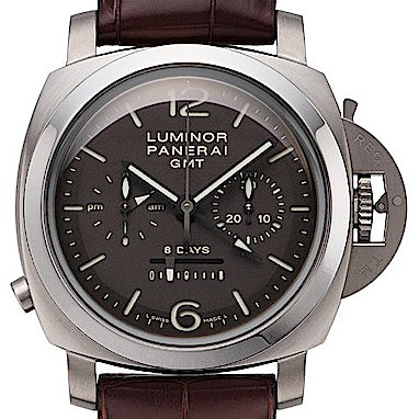 watches authenticwatches luminor gmt officine panerai com image