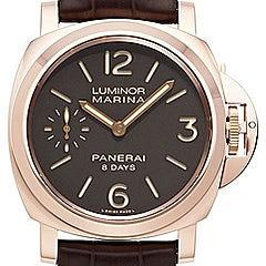 Panerai Luminor Marina 8 Days Oro Rosso - PAM00511