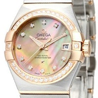Omega Constellation Brushed Chronometer - 123.25.27.20.57.001