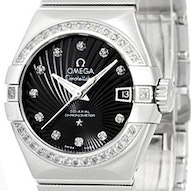 Omega Constellation Brushed Chronometer - 123.15.27.20.51.001