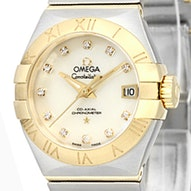 Omega Constellation Brushed Chronometer - 123.20.27.20.55.003