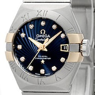 Omega Constellation Brushed Chronometer - 123.20.27.20.53.002