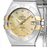 Omega Constellation Brushed Chronometer - 123.20.27.20.57.003