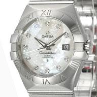 Omega Constellation Brushed Chronometer - 123.10.31.20.55.001