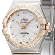 Omega Constellation Brushed Chronometer - 123.25.27.20.55.005