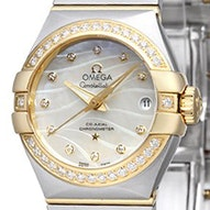 Omega Constellation Brushed Chronometer - 123.25.27.20.55.004