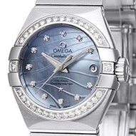 Omega Constellation Brushed Chronometer - 123.15.27.20.57.001