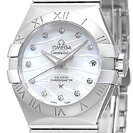 Omega Constellation Brushed Chronometer - 123.10.27.20.55.002