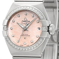 Omega Constellation Brushed Chronometer - 123.15.27.20.57.002
