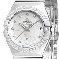 Omega Constellation Brushed Chronometer - 123.15.27.20.55.003