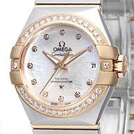 Omega Constellation Brushed Chronometer - 123.25.27.20.55.006