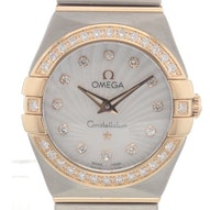 Omega Constellation Brushed Quartz Mini - 123.25.24.60.55.002