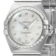 Omega Constellation Brushed Quartz Mini - 123.15.24.60.55.001