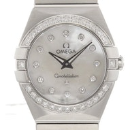Omega Constellation Brushed Quartz Mini - 123.15.24.60.55.001