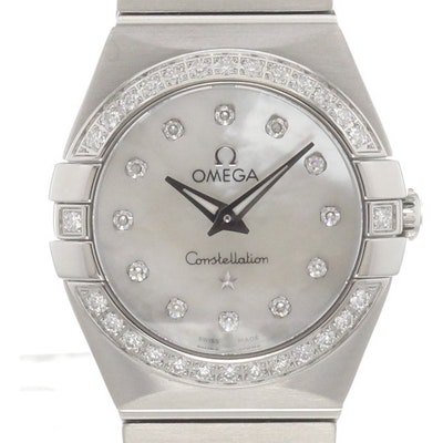 Omega Constellation Quartz - 123.15.24.60.55.001