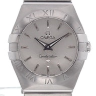 Omega Constellation Brushed Quartz Mini - 123.10.24.60.02.001