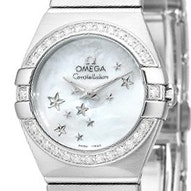 Omega Constellation Brushed Quartz Mini - 123.15.24.60.05.003
