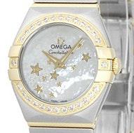 Omega Constellation Brushed Quartz Mini - 123.25.24.60.05.001
