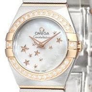 Omega Constellation Brushed Quartz Mini - 123.25.24.60.05.002