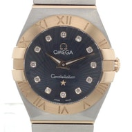 Omega Constellation Brushed Quartz Mini - 123.20.24.60.53.001