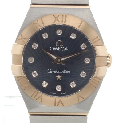 Omega Constellation Quartz - 123.20.24.60.53.001