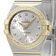 Omega Constellation Brushed Quartz Mini - 123.25.24.60.52.002