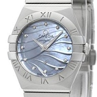 Omega Constellation Brushed Quartz Mini - 123.10.24.60.57.001