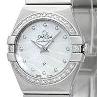 Omega Constellation Brushed Quartz Mini - 123.15.24.60.55.006