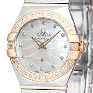 Omega Constellation Brushed Quartz Mini - 123.25.24.60.55.012