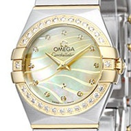 Omega Constellation Brushed Quartz Mini - 123.25.24.60.57.001
