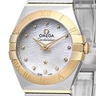 Omega Constellation Brushed Quartz Mini - 123.20.24.60.55.008