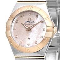 Omega Constellation Brushed Quartz Mini - 123.20.24.60.57.003
