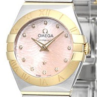 Omega Constellation Brushed Quartz Mini - 123.20.24.60.57.004