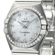 Omega Constellation Brushed Quartz Mini - 123.15.27.60.55.005