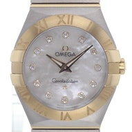 Omega Constellation Brushed Quartz Mini - 123.20.27.60.55.002