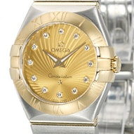Omega Constellation Brushed Quartz Mini - 123.20.27.60.58.001