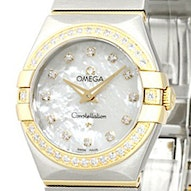 Omega Constellation Brushed Quartz Mini - 123.25.27.60.55.003