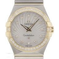 Omega Constellation Brushed Quartz Mini - 123.25.27.60.55.004
