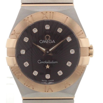 Omega Constellation Quartz - 123.20.27.60.63.001